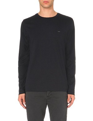 MICHAEL KORS Long-sleeved cotton-jersey top