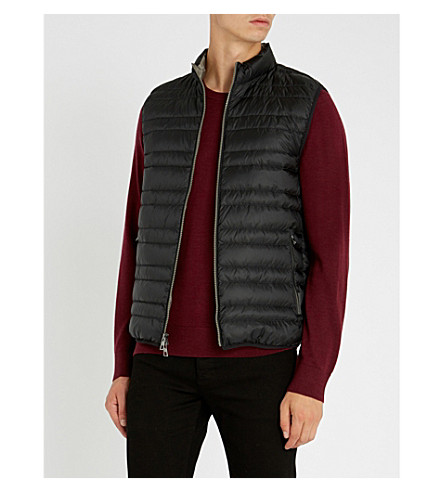 MICHAEL KORS Lightweight quilted gilet (Black