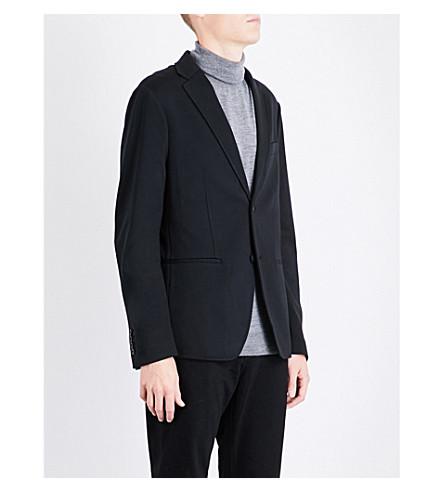 MICHAEL KORS Single-breasted woven jacket (Black
