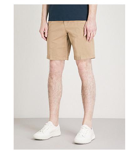 MICHAEL KORS Straight-fit stretch-cotton chino shorts (Khaki