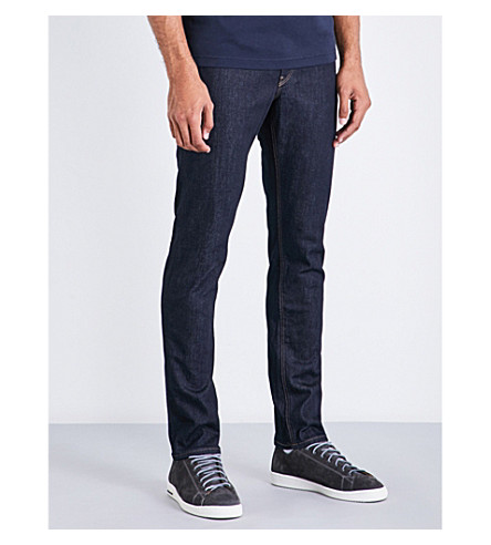 MICHAEL KORS Slim-fit tapered jeans (Indigo