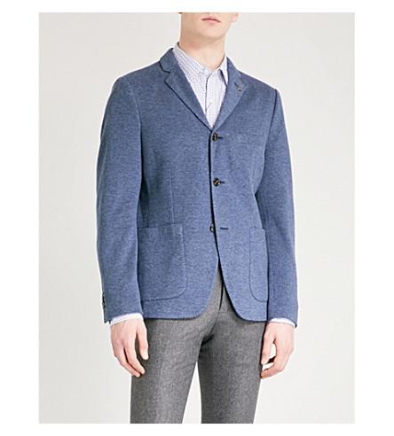 MICHAEL KORS Regular-fit cotton-blend jacket (Midnight