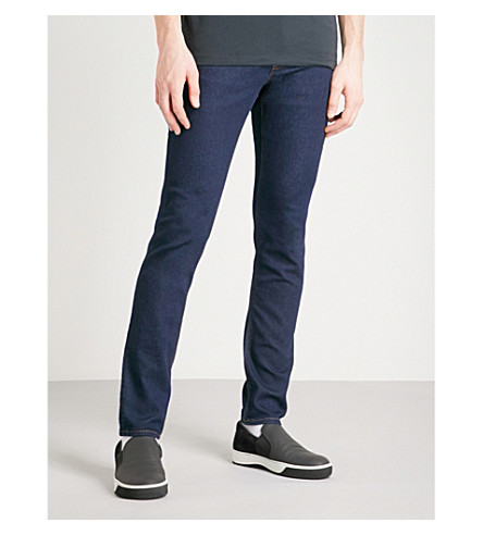 MICHAEL KORS 修身版型紧身牛仔裤 (漂洗