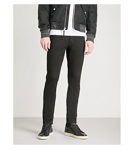 MICHAEL KORS Kent slim-fit tapered jeans (Black