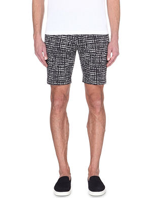MICHAEL KORS Printed cotton shorts