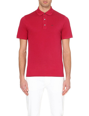 MICHAEL KORS Cotton-piqué polo shirt