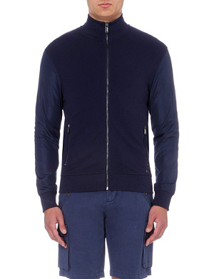 MICHAEL KORS Stretch-cotton and shell jacket