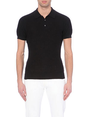 MICHAEL KORS Textured polo shirt