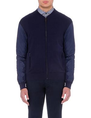 MICHAEL KORS Knit and shell jacket