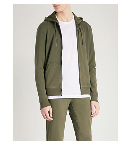 MICHAEL KORS Classic cotton-jersey hoody (Fatigue