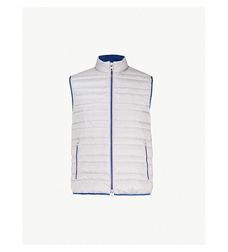 MICHAEL KORS Quilted shell gilet (Alloy
