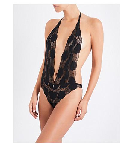 IMPLICITE Extase lace bodysuit (Black