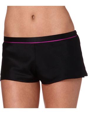 L'AGENT BY AGENT PROVOCATEUR Coleta silk shorts