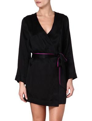 L'AGENT BY AGENT PROVOCATEUR Coleta silk gown