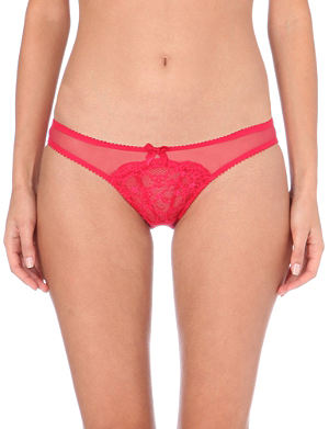L'AGENT BY AGENT PROVOCATEUR Felicita lace briefs