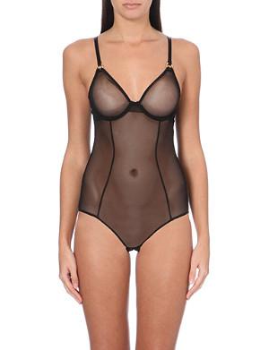 L'AGENT BY AGENT PROVOCATEUR Alyce mesh bodysuit