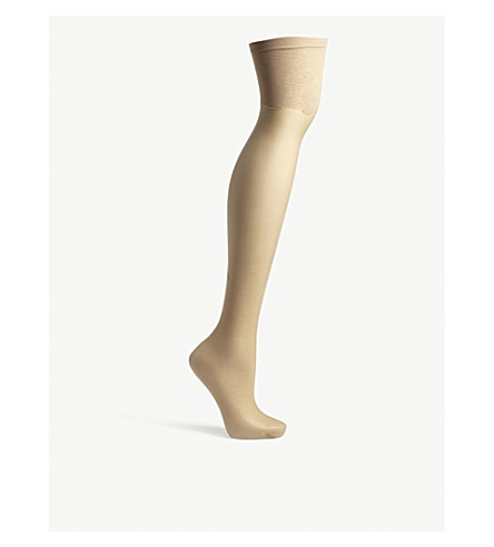 BLUEBELLA Solid top stockings (Nude