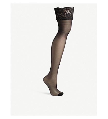 BLUEBELLA Backseam stretch stockings (Black