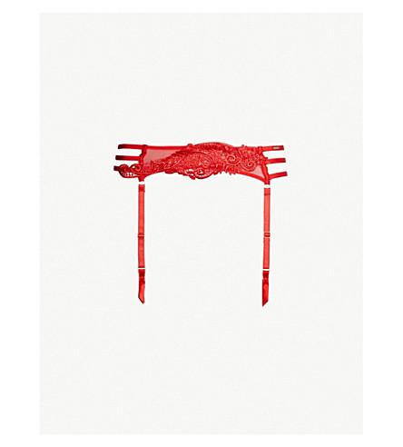 BLUEBELLA Julienne lace suspender (Red