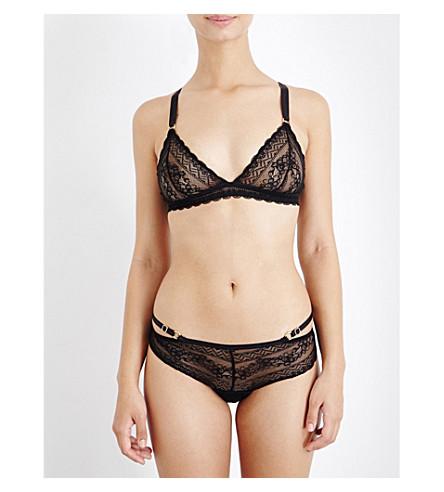 PALINDROME Panthera stretch-lace soft-cup lace bra (Cavier