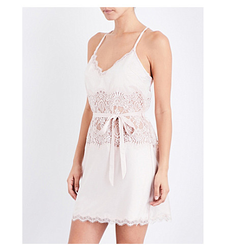 PALINDROME Starling lace chemise (Shell