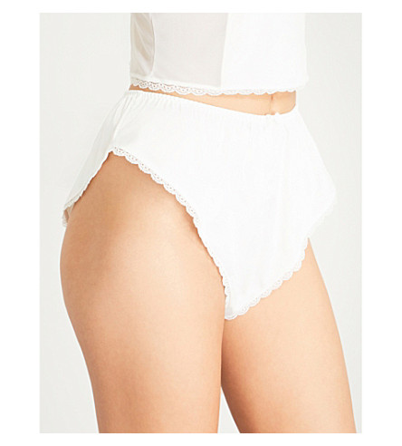 PALINDROME法国短裤 (亮 + 白)