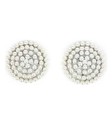 E.L.F. ZHOU LONDON Galaxy Crystal faux-pearl nipplets (Pearl
