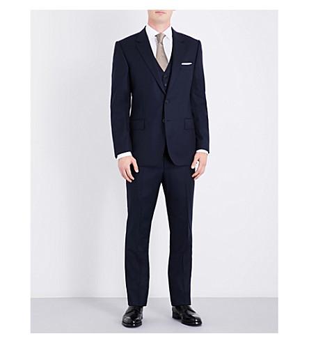 GIEVES & HAWKES Regular-fit wool suit (Navy