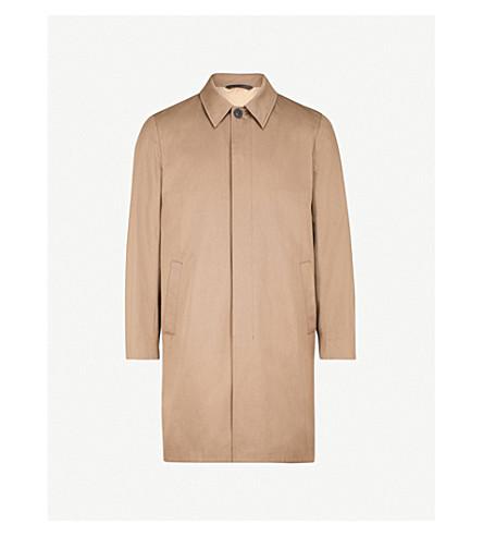 GIEVES & HAWKES Monroe cotton-blend raincoat (Sand
