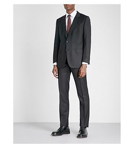GIEVES & HAWKES Regular-fit wool suit (Black