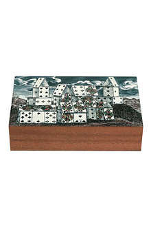FORNASETTI Cittàa di carte playing cards box