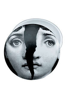 FORNASETTI Cracked Viso round box