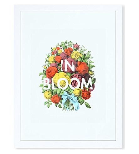 EAST END PRINTS In Bloom framed print
