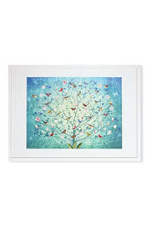 EAST END PRINTS The Singing Tree framed print