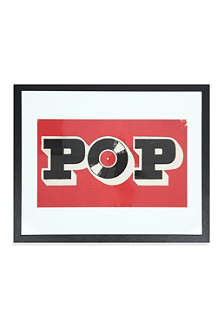 EAST END PRINTS Pop framed print