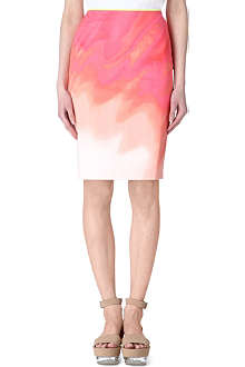 ELIE TAHARI Print pencil skirt