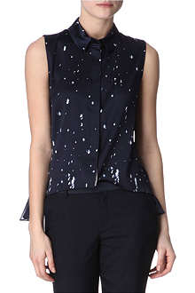 ELIE TAHARI Lisa printed shirt