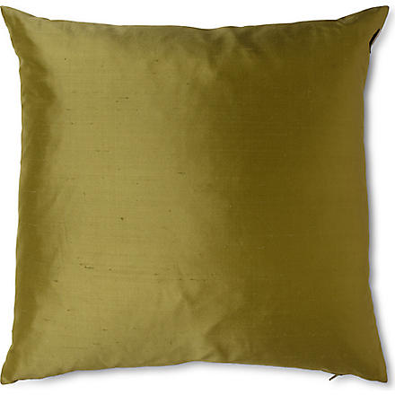 LINUM Silk cushion (Leaf