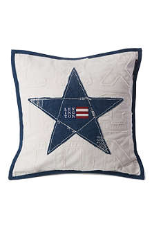 LEXINGTON Star denim cushion