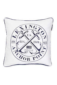 LEXINGTON Anchor Stamp cushion