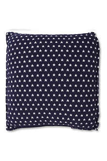 LEXINGTON Authentic star cushion dark blue