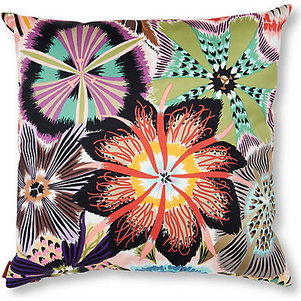 MISSONI HOME Passiflora cushion