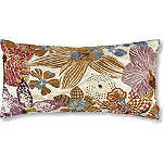 MISSONI HOME Mekora orchid long cushion brown