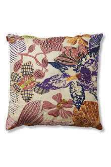 MISSONI HOME Medale orchid organza cushion