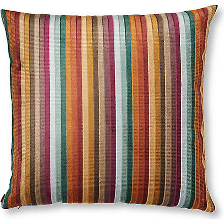 MISSONI HOME Mysore cushion burnt stripes