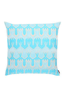 MISSONI HOME Ormond turquoise cushion 40cm