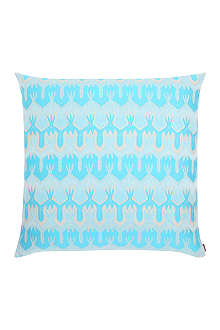 MISSONI HOME Ormond turquoise cushion 60cm