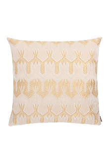 MISSONI HOME Ormond gold cushion 40cm