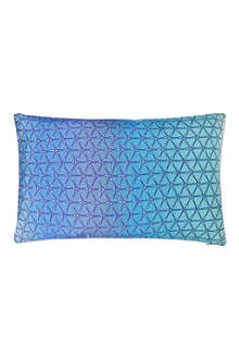 NITIN GOYAL Ombre print rectangular cushion