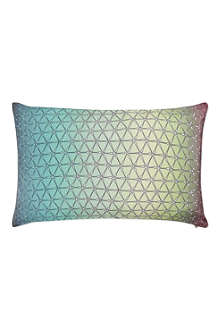 NITIN GOYAL Multi Ombre rectangular cushion